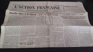 JOURNAL-NATIONALISTE-L-039-ACTION-FRANCAISE-28-MARS-1934-N-87-ABE