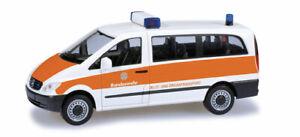HERPA-700535-minitanks-furgone-Mercedes-VITO-esercito-trasporto-speciale-H0-1-87