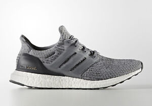 3a2f71a99e49b Adidas Ultra Boost 3.0 size 10. Heather Grey White. BA8849. Mystery ...