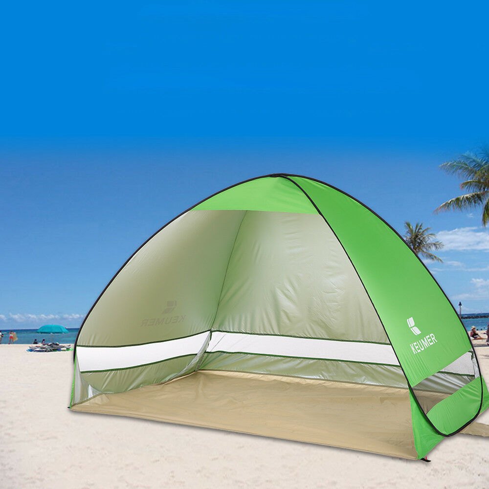 Outdoor Instant Pop-up UV Portable Beach Tent Anti UV Pop-up Shelter Camping Fishing Shade 183a2f