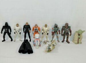 LOT of 10 Vintage 1990's LFL/Kenner Star Wars Action Figures