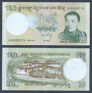 Bhutan-2013-20-Ngultrum-UNC-2013-20-L06029715