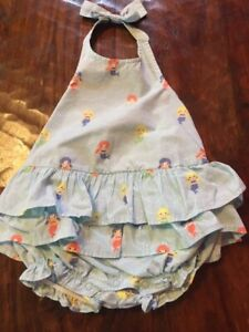 Gymboree EUC romper one piece 3-6 6-12 12-18 18-24 2T 3 3T 3 6 12 18 24