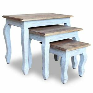 Nesting-Tables-Set-Solid-Wood-Side-Coffee-End-Nested-Table-Vintage-Furniture-3pc