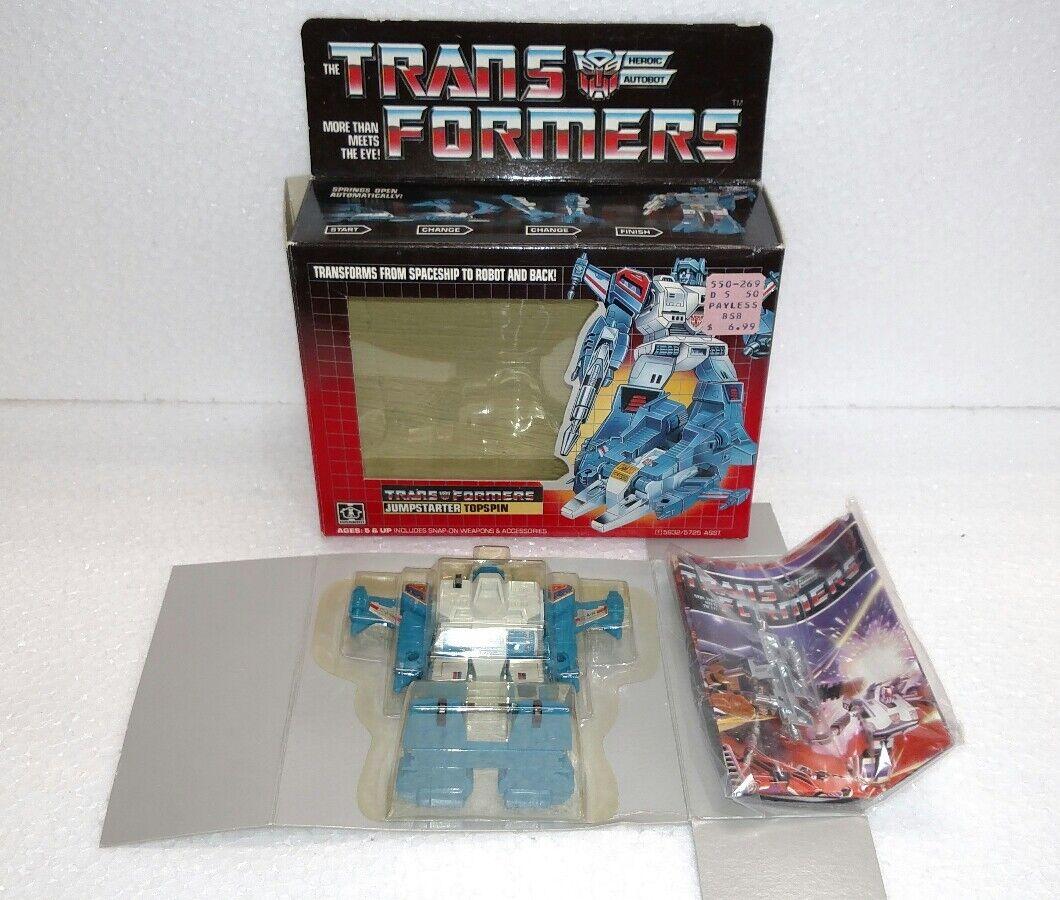 barato y de moda Transformers Jump Estrellater Topspin Nuevo en Caja 1984 1984 1984  ofreciendo 100%