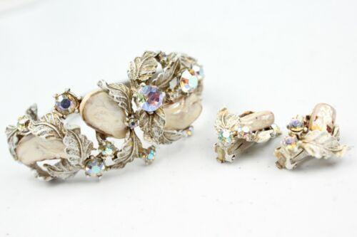 Vintage Estate HAR Bracelet & Earring Set Needs Wo