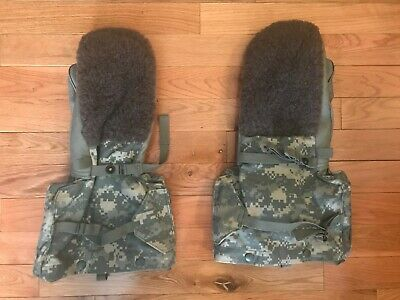 US Military Issue Digi Camo Arctic Mitten Extreme Cold Weather w//Liner SMALL