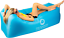 paradox movement inflatable lounger, holds up to 400 lb no pump needed (nib)