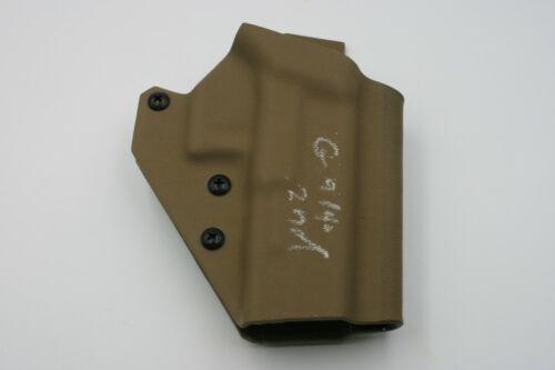 2nd Kydex Holster T.Rex Arms Glock 19//17//22//23 9MM//.40 Ragnarok