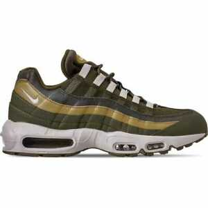 8265424c46 Nike Air Max 95 Essential Casual Olive Canvas/Light Bone/Golden Moss ...
