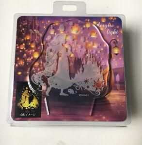 Disney Rapunzel &Pascal Barrette Lantern Night Tangled Japan import NEW