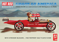 "MPC STROKER MCGURK GHOST OF AMERICA ""FLYING CAR"" model kit 1/18"