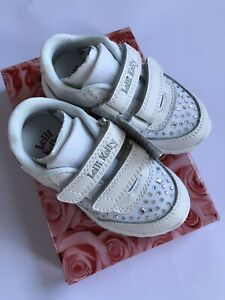 Lovely Lelli Kelly White Trainers
