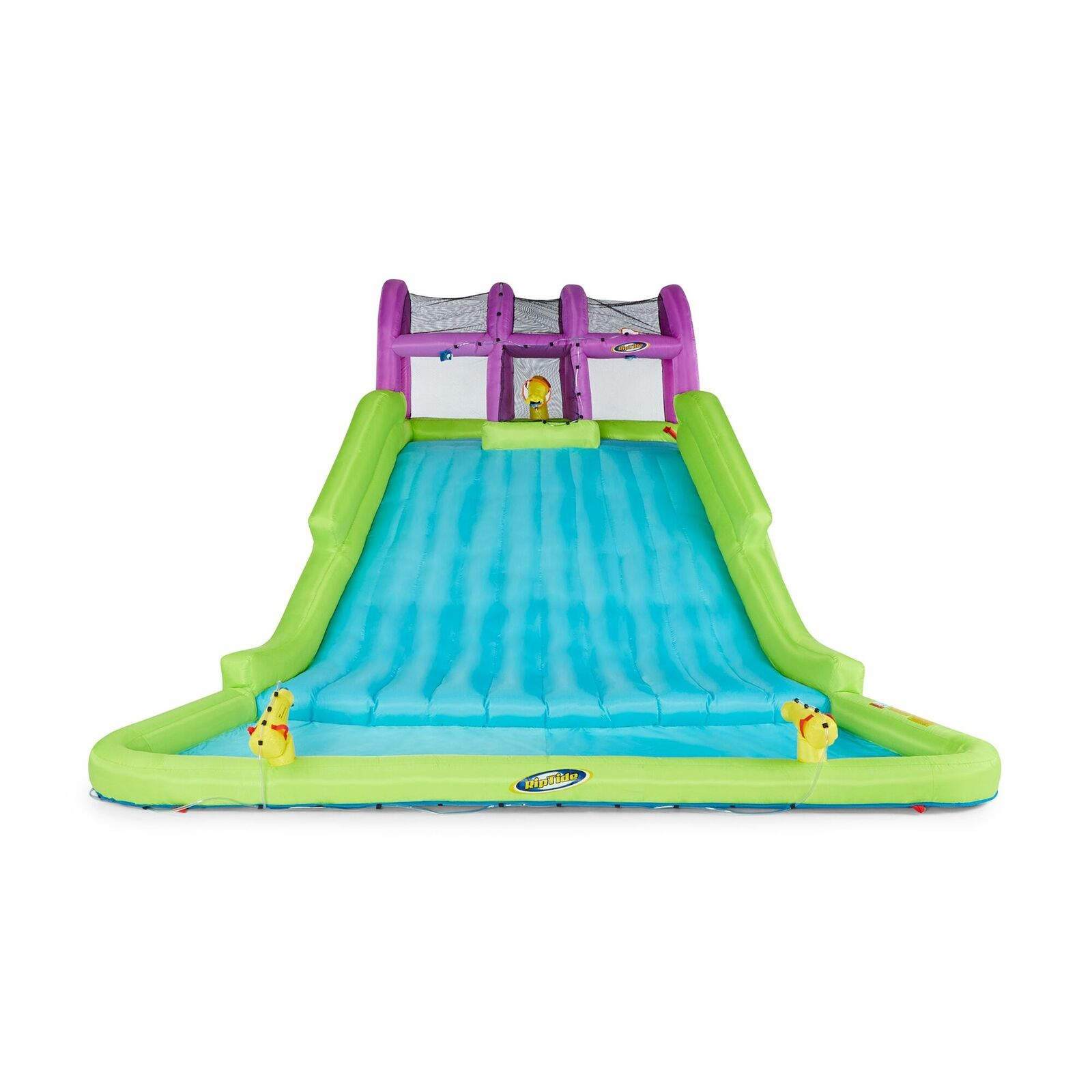 Image of: Inflatable Water Park Crocodile Island Slide Blast Zone For Sale Online Ebay