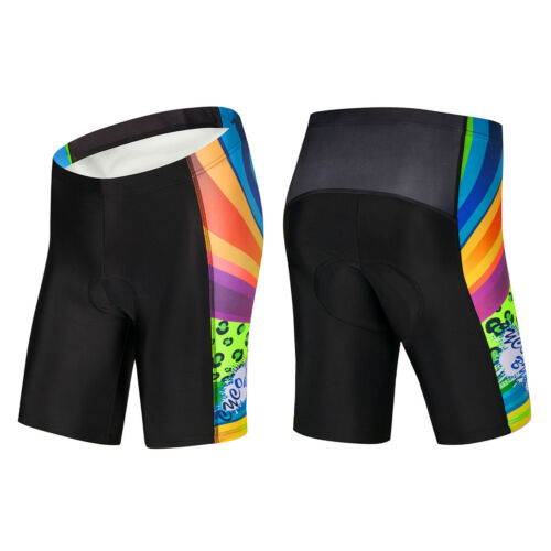 New Women/'s Summer Cycling Shorts 4D Gel Padded Bike Bicycle Shorts Breathable