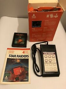 STAR RAIDERS  ATARI 2600 / 7800 VIDEO GAME COMPLETE (TESTED AND WORKING) PAL