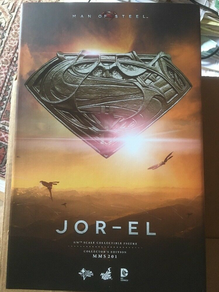 JOR-EL Man If Steel MMS 201 Collector's Edition Hot Toys