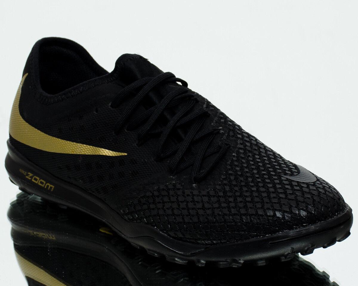 Great discount Nike Zoom HypervenomX PhantomX III Pro TF Black Metallic Vivid Gold AJ3817-090