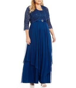 d4de96acfb3b R&M Richards Women's Plus Size Formal Jacket Dress - Mother of the ...