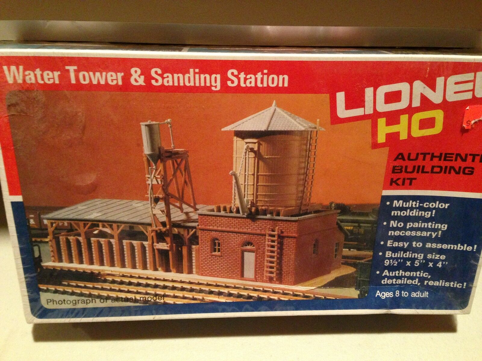 Lionel Lionel Lionel HO Scale Water Tower Building Kit Never Used Sealed Box 34a554