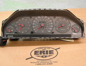 volvo instrument cluster speedometer assembly fits 960 s90. Black Bedroom Furniture Sets. Home Design Ideas