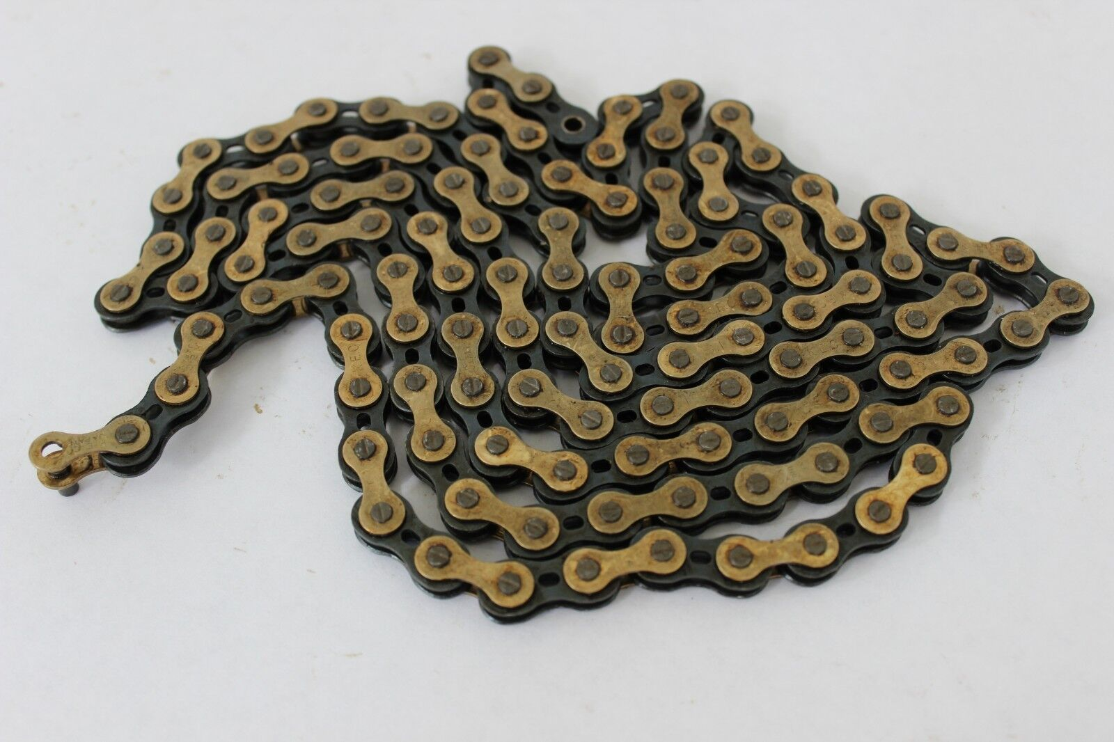 NOS Drilled Road Bike Bicycle Chain NEVER USED 116 Links from 1980-81