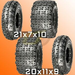Details about FULL SET 21x7x10 20x11x9 ATV Tire Wheel Combo 10x5 9x8  Beadlock Wheels MOUNTED