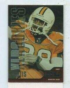 CLINTON PORTIS 2002 Upper Deck XL Rookie Card #528