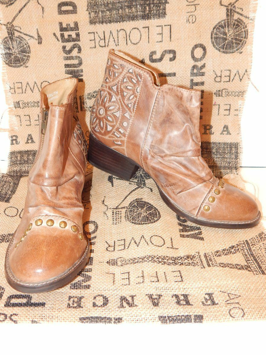 Patron Ruth Studded Ankle Boots-8- 249 MSRP