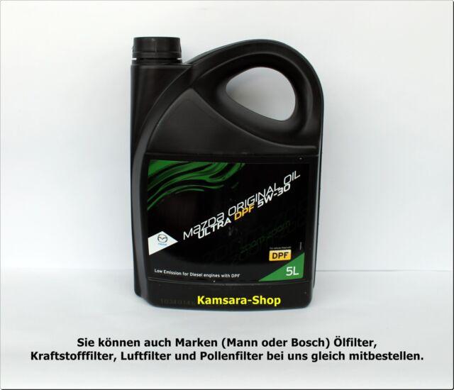 * desde Berlín aceite del motor Mazda original oil ultra filtro para partículas diésel 5w-30 5 litros 5w30