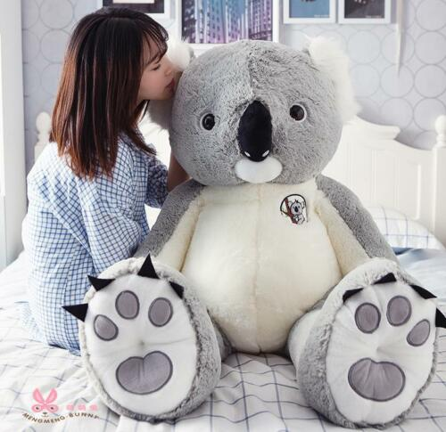 Details about 55'' Giant Large big Animal Koala bear plush soft Toys Stuffed Koalas Doll gift