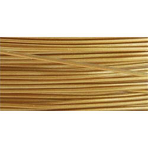 "Stringing Wire 7-strand .015/""x30/'-satin Gold"