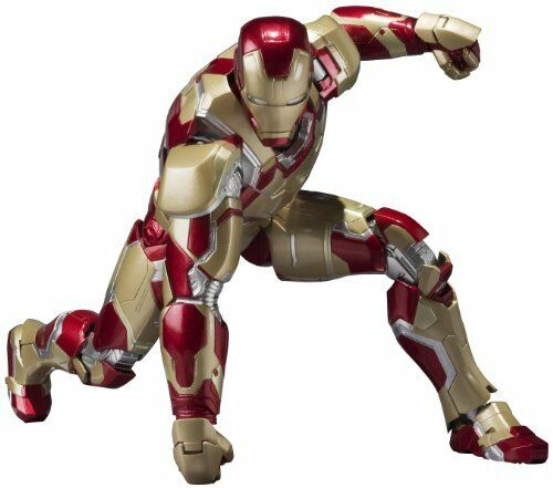 NUOVO S.H. FIGUARTS IRON MAN MARK 42 XLII Action Figure Bandai dal Giappone F/S