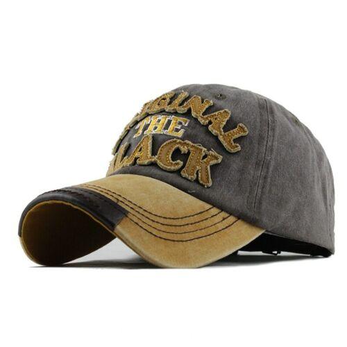 Cap Baseball Hot Rétro lavé Fitted Cap Snapback Chapeau pour hommes OS Femmes