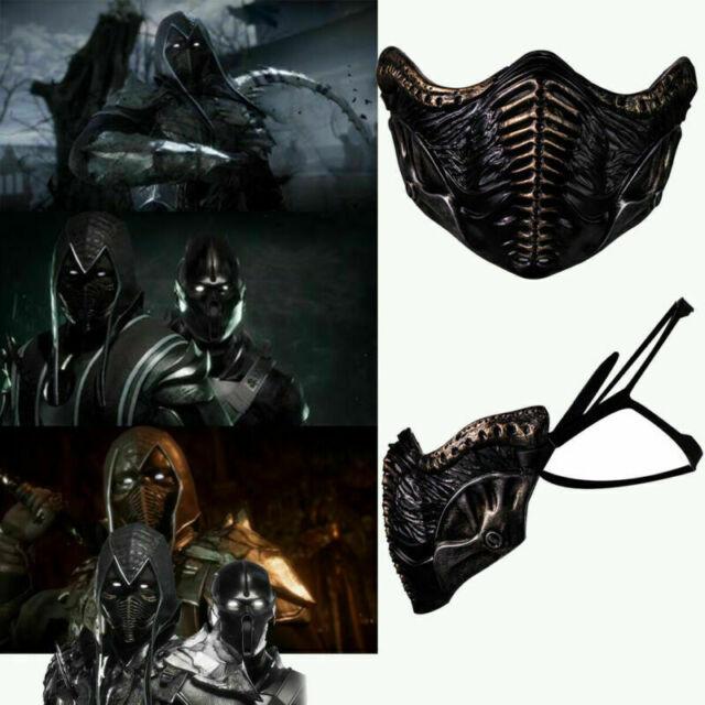 Noob Saibot Mask Mortal Kombat 11 Costume Mask Props