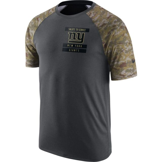 2ce55b04b NEW YORK GIANTS 2016 NIKE DRI FIT SALUTE TO SERVICE MENS SHIRT 2XL