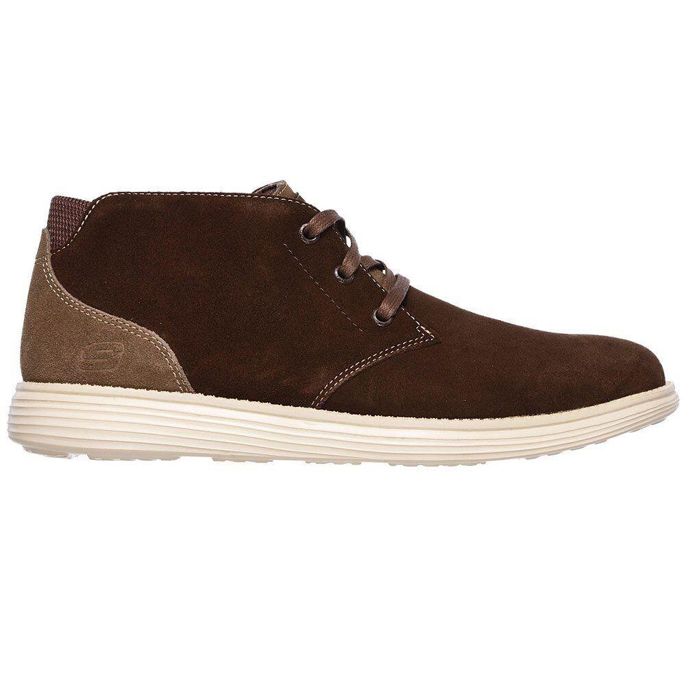 Zapatillas Status-Rolano Skechers Marrón Hombre