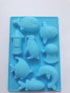 Sea-animal-Dolphin-Chocolate-Cake-ice-Cube-Cookie-Silicone-Mold-Mould-Decorating