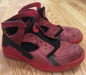 e1527dadd2cf Nike Air Flight Huarache 705005-600 Red Love Hate Pack Basketball ...