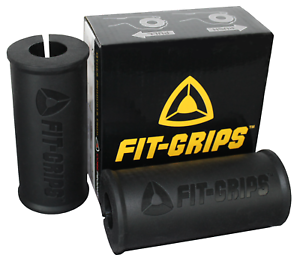 Fit-Grips-2-0-Thick-Grips-Fat-Bar-Training-Bicep-and-Tricep-Black