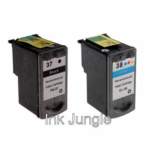 1x Set of Black & Colour Ink Cartridges For Canon PIXMA MP190 Inkjet Printers