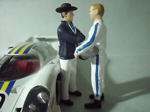 Figurines 1/18 Caroll Shelby Vroom Un Peindre Non Peint Pour Ford Cobra