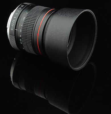 85mm f/1.8 Manual Focus Aspherical Medium Telephoto Lens for Canon EOS DSLR