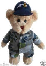 "*NEW* TIC TOC TEDDIES - ARMY OCCUPATIONAL ""SYDNEY"" THE NAVY CAM BEAR TOY 30cm"