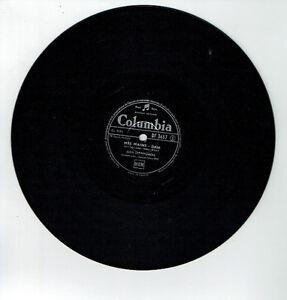 78T-Jean-BRETONNIERE-Vinyl-Sound-MES-HANDS-THE-CAMPANELLA-COLUMBIA-3457-RARE