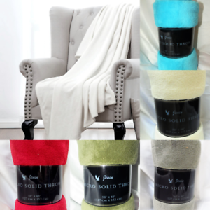 MICRO-PLUSH-BLANKET-SUPER-COZY-SOFT-AND-EASY-CARRY-SOLID-SMALL-THROW-BED-BLANKET
