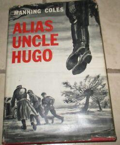 Alias-Uncle-Hugo-Manning-Coles-Hardcover-DJ-1952-BCE
