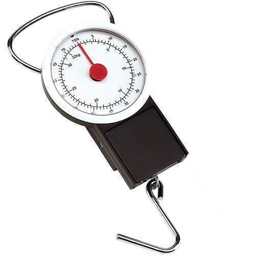 Portable 32kg Hand Scales for Luggage /& 1m Tape Measure
