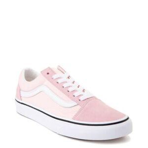 vans old skool blush pink