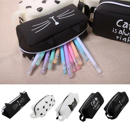 Pencil Case Pen Pouch Box Cases School Office Supplies Stationery Gift SL